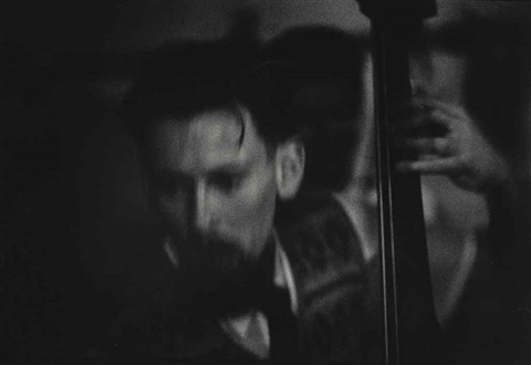 peter ind (bassist) by w. eugene smith
