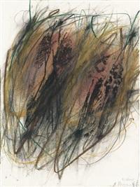 sans titre (série fossilien) by arnulf rainer