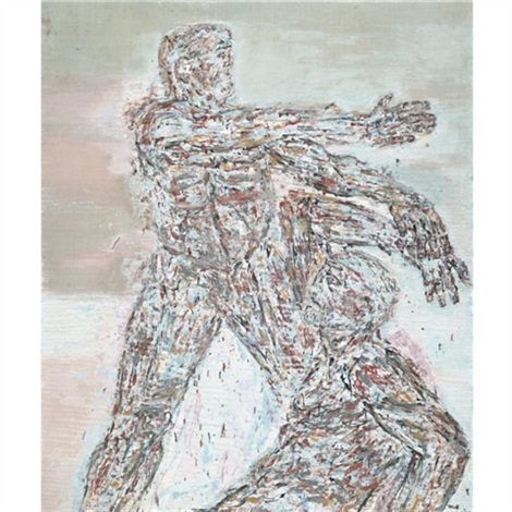 combat iii by leon golub