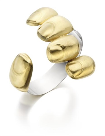 goldfinger cuff by bruno martinazzi