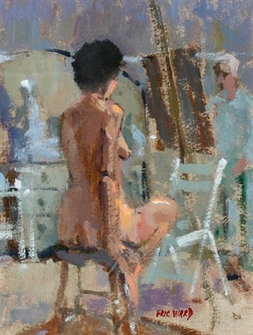 susan in the life room by eric ward