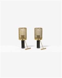 k11-81 paire de lampes à poser by tapio wirkkala