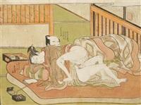 syunga by isoda koryusai