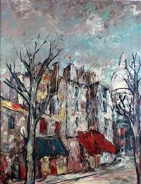 paris, montmartre et le sacré-coeur by henri d' anty
