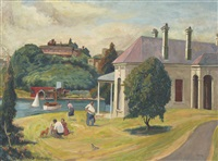 untitled (banjo patterson's house) by john terence santry