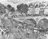 ponts de paris by gilbert peyre