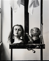objects before a window by joel-peter witkin