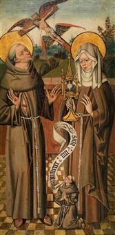 der heilige franziskus und die heilige klara by anonymous-german (15)
