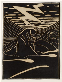 storm brewing by marguerite thompson zorach
