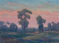 ojai landscape by william dorsey