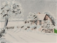 frosty morning by grandma moses