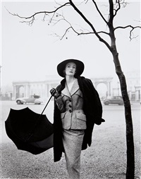 wenda, rotten row, hyde park by norman parkinson