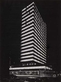 lever house building, new york city by ezra stoller