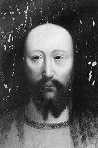 head of christ by jan van eyck