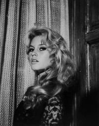 brigitte bardot, madrid (set of 2) by peter basch
