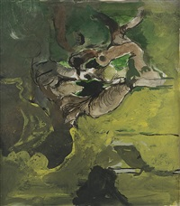 picton fragment (study) by graham sutherland