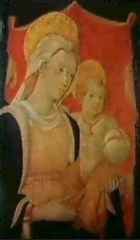 la madonna col bambino by andrea delitio