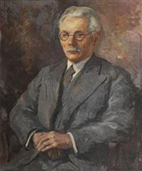 portrait d'homme by serge fotinsky
