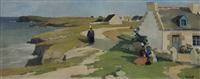 hameau breton animé by renée carpentier