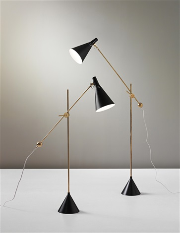 standard lamps model no k 10 11 pair by tapio wirkkala