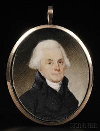 portrait miniature of thomas jefferson by robert field