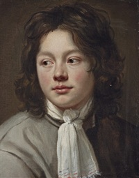 portrait of a boy by le nain brothers