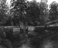 on the river lambourne by maurice f. codner