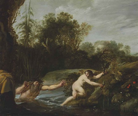 alpheus and arethusa by moyses van uytenbroeck