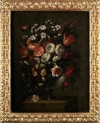 jarrón con flores by diego valentin diaz