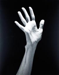 lucinda's child (hands) by robert mapplethorpe