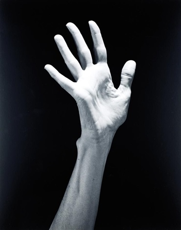 lucindas child hands by robert mapplethorpe