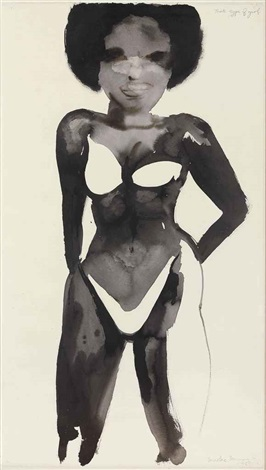 that type of girl by marlene dumas