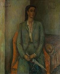 portrait d'une créole by rené (victor) auberjonois