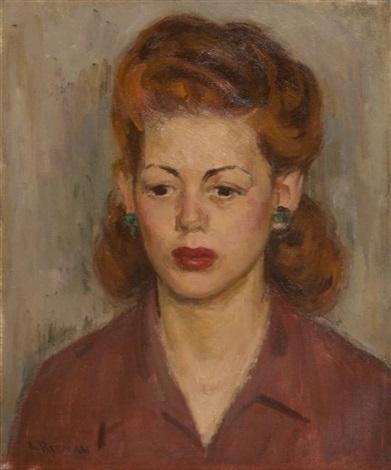 portrait of a lady by louis ritman