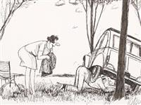 il me semblait bien pourtatn que c'etait un... (+ 11 others; 12 works) by roger tetsu