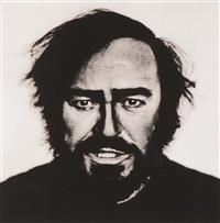 luciano pavarotti (turin 1996) by anton corbijn