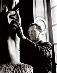 le sculpteur aveugle, paris, musée rodin by pierre gassman