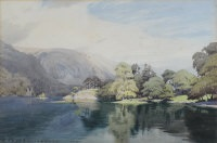 calm summer morning, ullswater by william heaton cooper