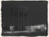 petit's mobil station, cherry hill, n.j. by george tice