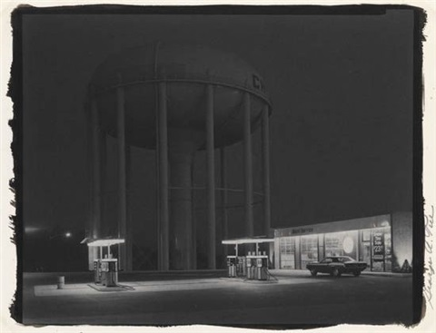petits mobil station cherry hill nj by george tice