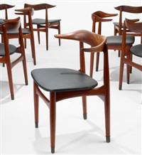 dining chairs (set of 8) by knud faerch