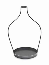 thin black lines (770mm vase) by nendo