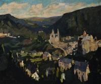 panorama de clervaux by elysée fabry