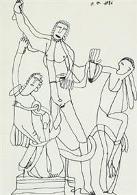laokoon-gruppe by oswald tschirtner
