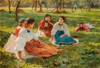 pihenő a mezőn by robert nadler