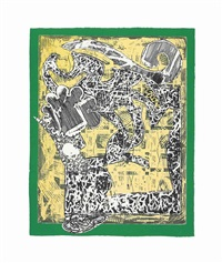 green journal by frank stella