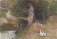 feeding the ducks by thomas mackay