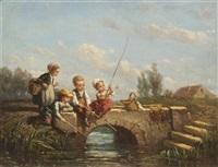visserij brug by elchanon verveer
