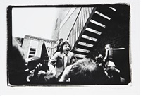 mick jagger, le beatroot club, soho, london by peter anderson