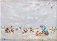 la journée parasol by christian baechler